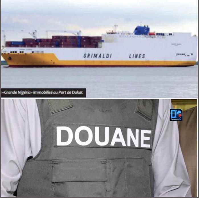 Port Autonome de Dakar : La Douane saisit 120KG de cocaïne dans le navire «Grande Nigeria» où les 700 KG avaient été trouvés en juin dernier.