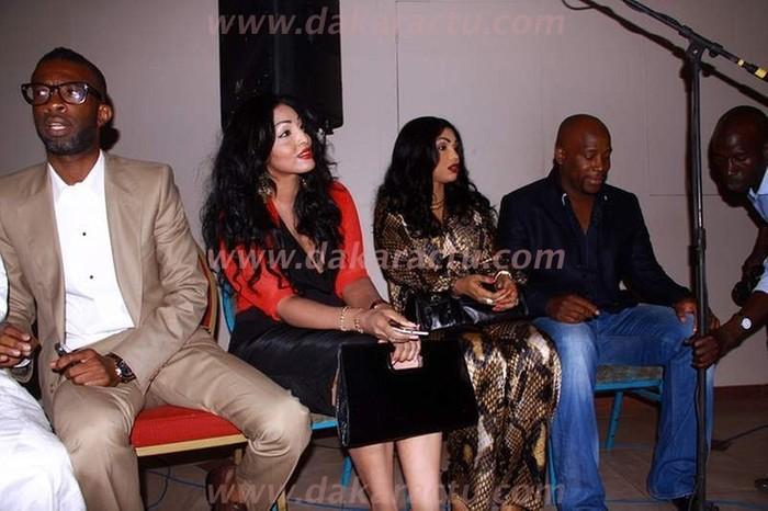 Bouba Ndour et sa femme au lancement de la 2ème saison d'Un café avec...