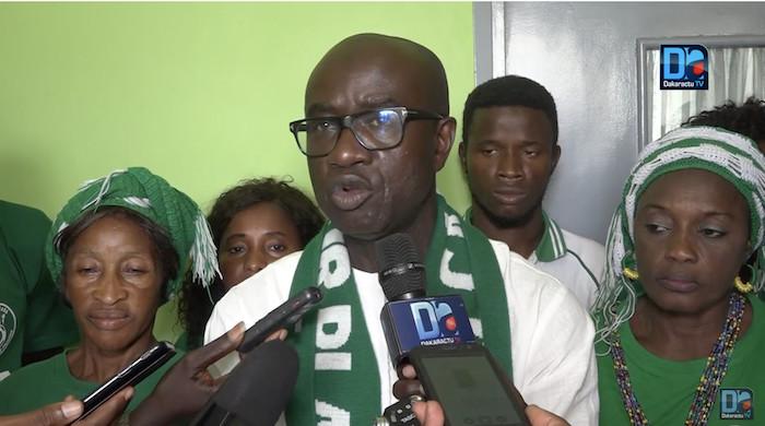 Malamine Tamba (Président Allez Casa) : « L'urgence est à la décrispation… »