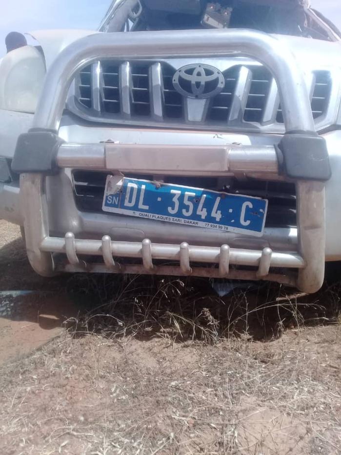 Urgent / Accident  sur l'autoroute Ila Touba : Mamadou Mamoune Mbacké décède sur le coup
