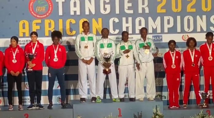 Championnats d'Afrique de karaté : Le Sénégal termine 4ème au classement, les « Lionnes » championnes d'Afrique par équipe...