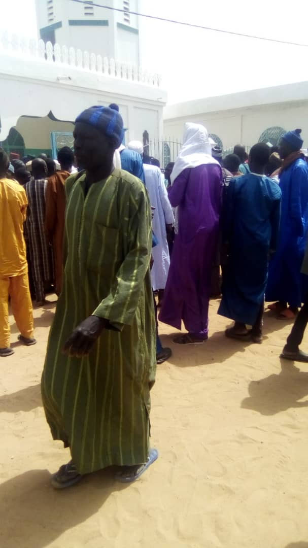 Diamal : Inhumation du khalife El Hadj Mame Abdou Cissé.