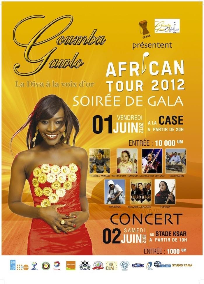 Coumba Gawlo en concert à Nouakchott les 01 et 02 juin (VIDEO)