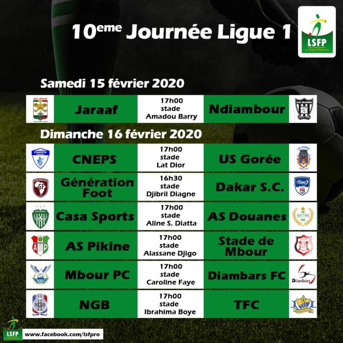 10ème journée Ligue 1 / Programme complet : Un dimanche de feu en perspective…