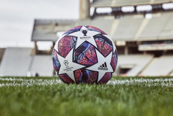 """Ligue des Champions : Adidas dévoile """"Istanbul 2020"""" le ballon de la finale."""