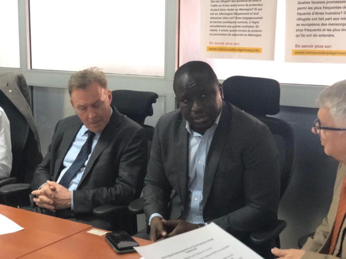 Visite de travail : Le Vice-Président du Parlement allemand à l'ANPEJ