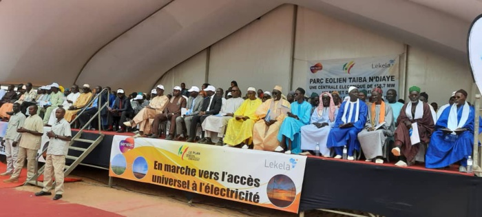 Inauguration Parc éolien de Taïba Ndiaye : Le Président Macky Sall attendu à grand renfort.