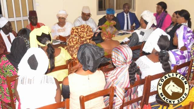 Secousses dans « Macky 2012 » : Les femmes appellent les conspirateurs à rentrer dans les rangs