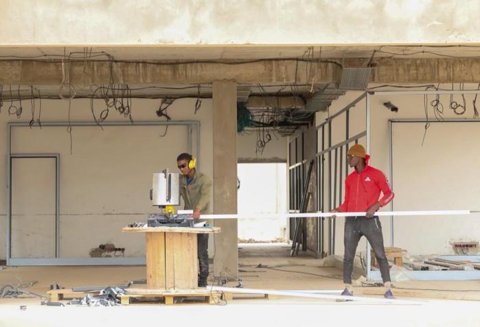 Visite du chantier du Datacenter de Diamniadio : les travaux s'accélèrent