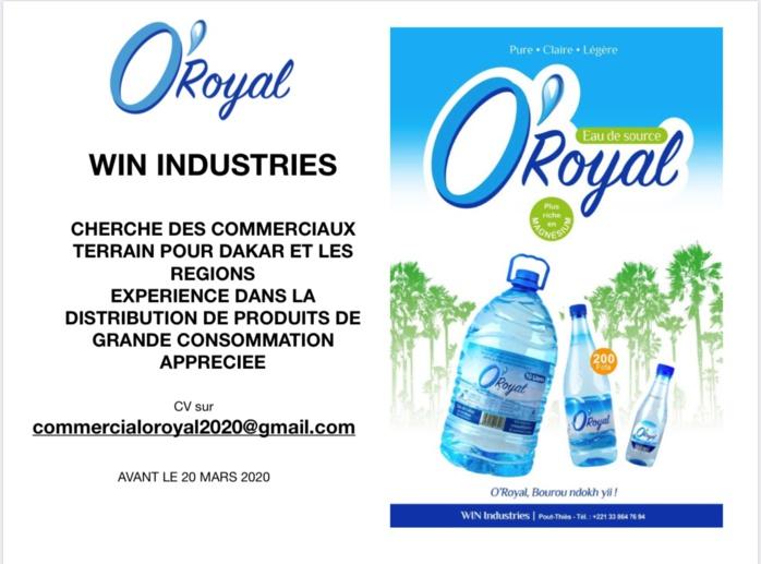 O'Royal recrute...