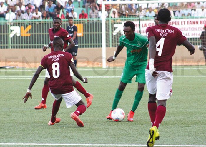 Ligue 1 / 13eme journée : Le Ndiambour et Génération Foot vont à la trêve sur un nul.