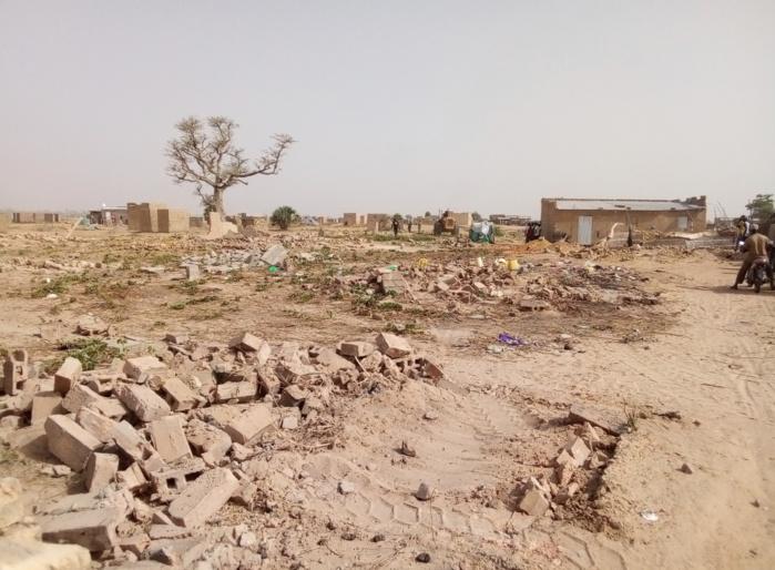Construction du stade municipal de Kaolack : La Dscos procède à la démolition de 312 emprises.
