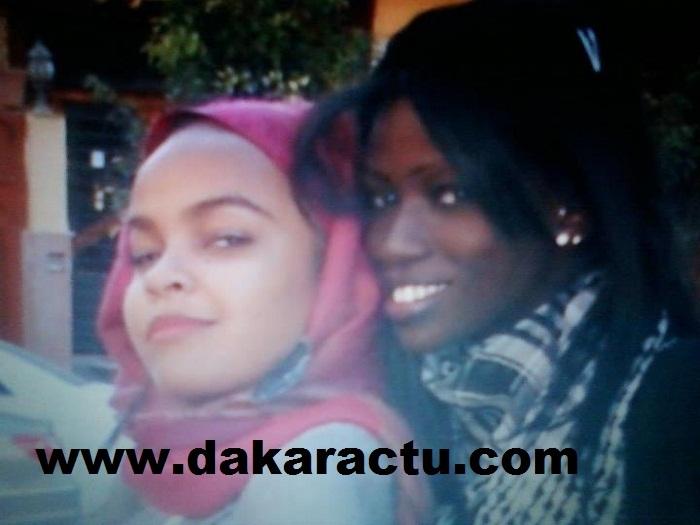 La fiancée de Samuel Eto'o, Karina, et la jet-setteuse Thiaba en Libye
