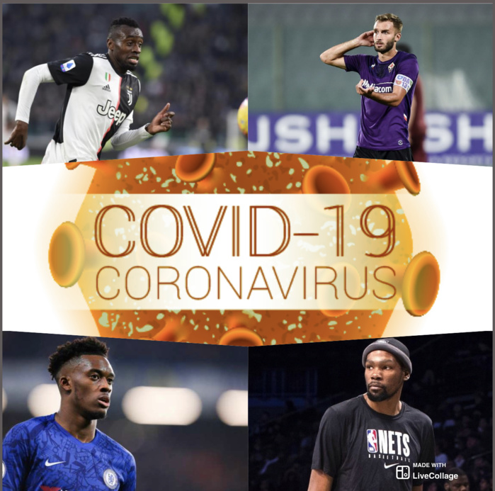 Pandémie du coronavirus : Les footballeurs professionnels victimes préférées du virus ?