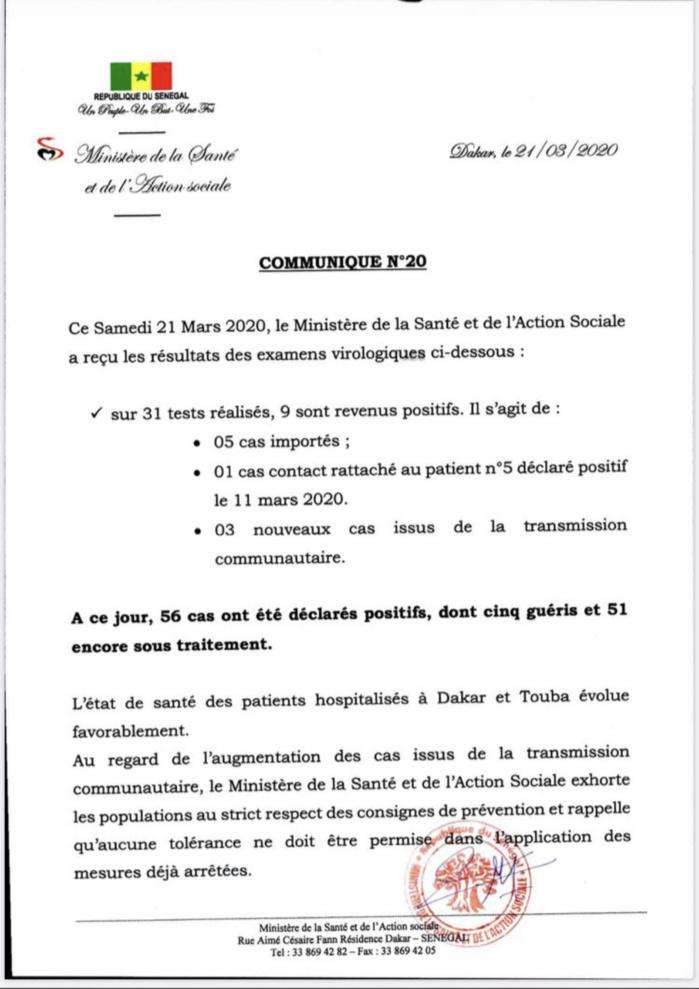 Institut Pasteur : 9 nouveaux cas testés positifs au coronavirus.