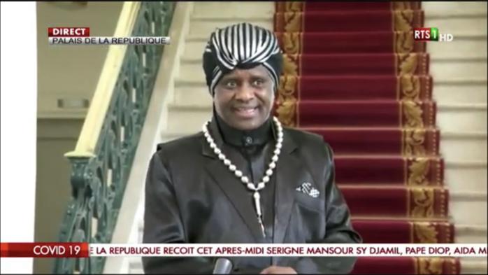 Covid-19 / Cheikh Modou Kara au palais : « J'ai dit au président que la maladie n'avancera pas au Sénégal. Il va faire face et réussir à l'éradiquer »