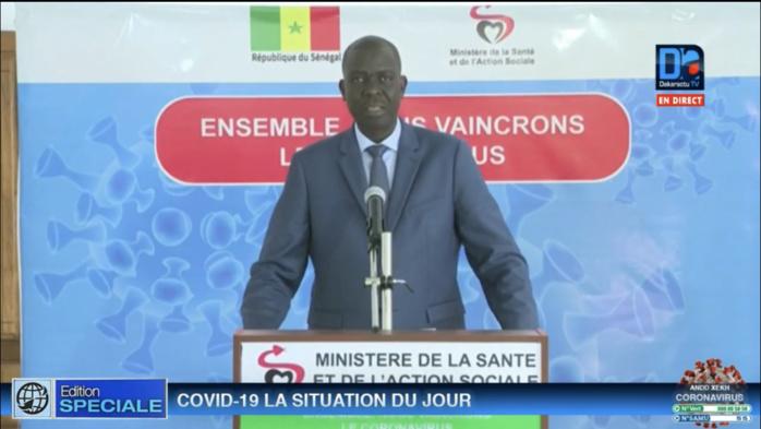 Sénégal : 6 nouveaux cas testés positifs au coronavirus.