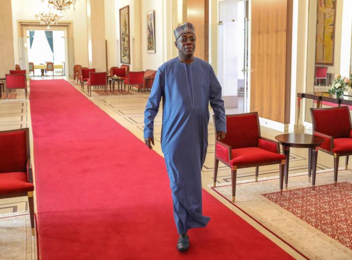CORONAVIRUS : Le Président Macky Sall a reçu Souleymane Ndéné Ndiaye.
