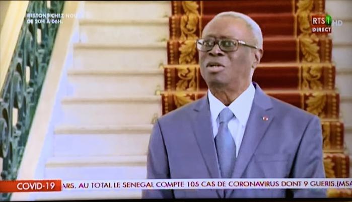 Robert Sagna : «Je salue l'unanimité des Sénégalais autour du président Macky Sall.»