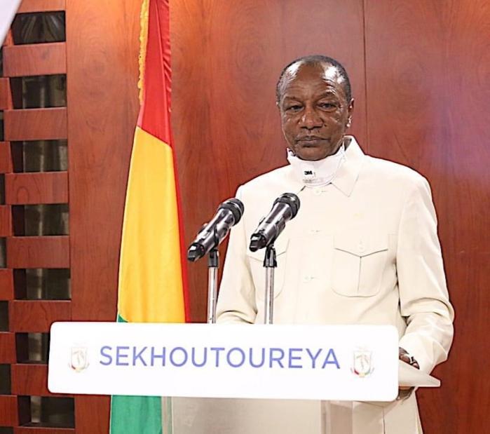 Coronavirus : Alpha Condé décrète l'état d'urgence en Guinée Conakry.