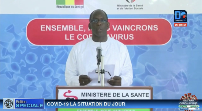 Lutte contre le Coronavirus : Le ministre de la Santé remercie les donateurs.