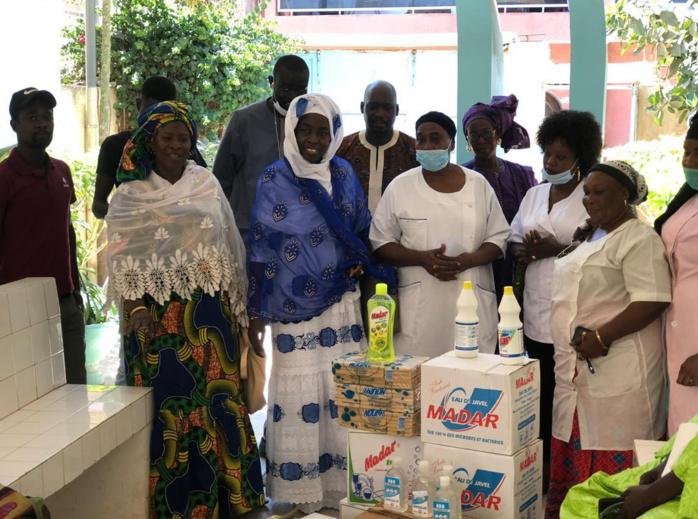 Lutte contre le Covid-19 : Pape Alioune Ndiaye vient en appui à 600 familles sises à Diamalaye.