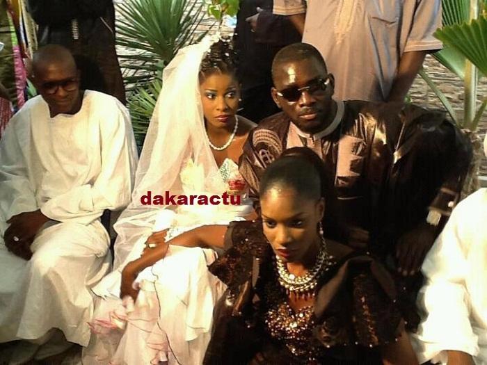 Mame Thierno Birahim a representé son frère Serigne Modou Kara au mariage du fils de Kara avec l'animatrice de la Sen tv,  Sofia Thiam