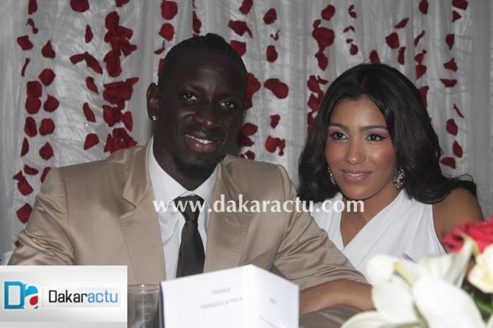 Mamadou Sakho et sa femme Mazda