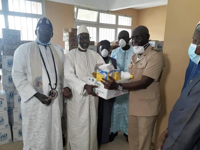 RIPOSTE CONTRE LE COVID 19 : Mamadou Mamour Diallo appuie le comité régional de lutte contre la pandémie et le Collectif «Stop Corona» de Louga.