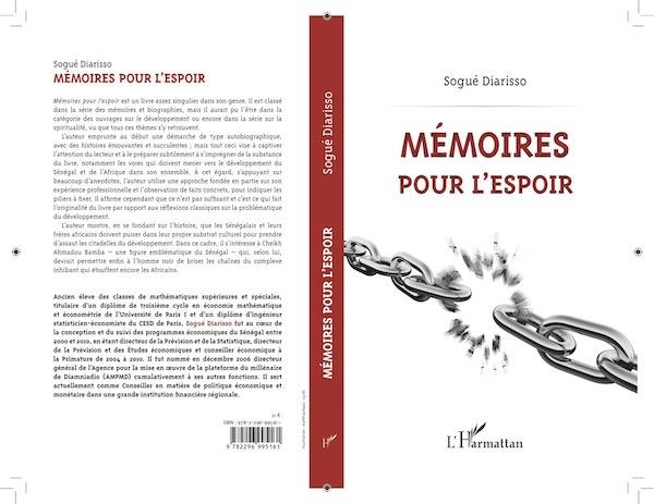 Livres : «Mémoires pour l'espoir» de Sogué Diarisso - Entre autobiographie et anthropologie du développement