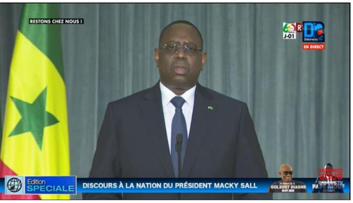 Covid-19 : Macky Sall appelle à éviter la stigmatisation « pour une maladie très contagieuse, mais pas du tout honteuse »