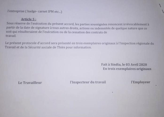 Mbour : L'entreprise Twyford accusée de  licenciements abusifs par les travailleurs.