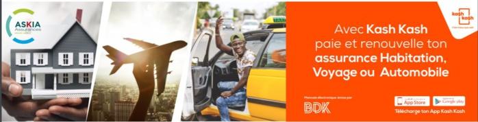 COMMUNIQUE DE PRESSE : Banque de Dakar et ASKIA Assurances annoncent le lancement du module assurance de l'application KASH KASH