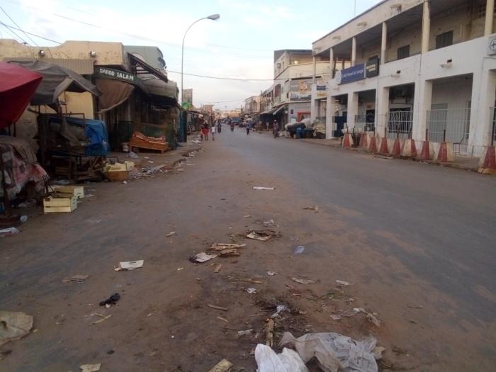 Kaolack : Les malfaiteurs profitent du couvre-feu pour visiter les marchés, les boutiques et les établissements scolaires.