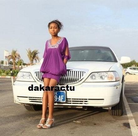 Zeïna, la fille de Viviane et Bouba Ndour, veut mener une vie  de star