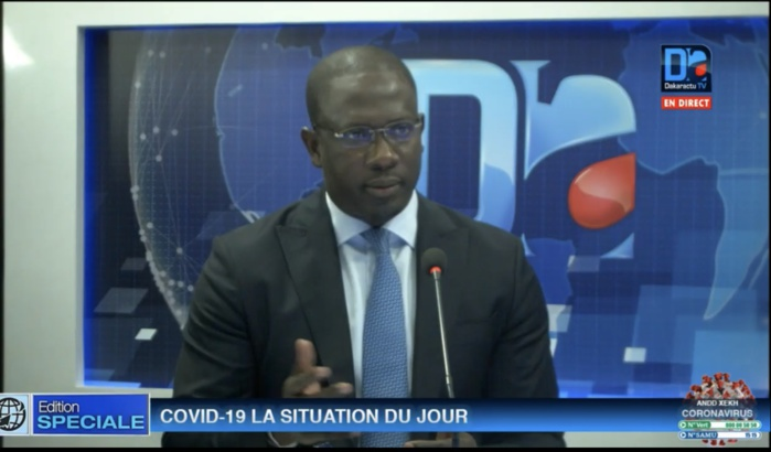 Coronavirus/Polémique autour du nombre de sénégalais décédés  dans la diaspora : Les explications de Moïse Sarr (Secrétaire d'État chargé des sénégalais de l'extérieur)
