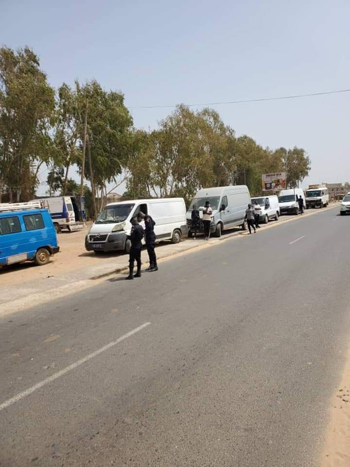 Rufisque / Covid-19 : 31 cas contacts libérés, 312 enfants retirés de la rue, plus de 80 000 000 reçus, 21 véhicules immobilisés.