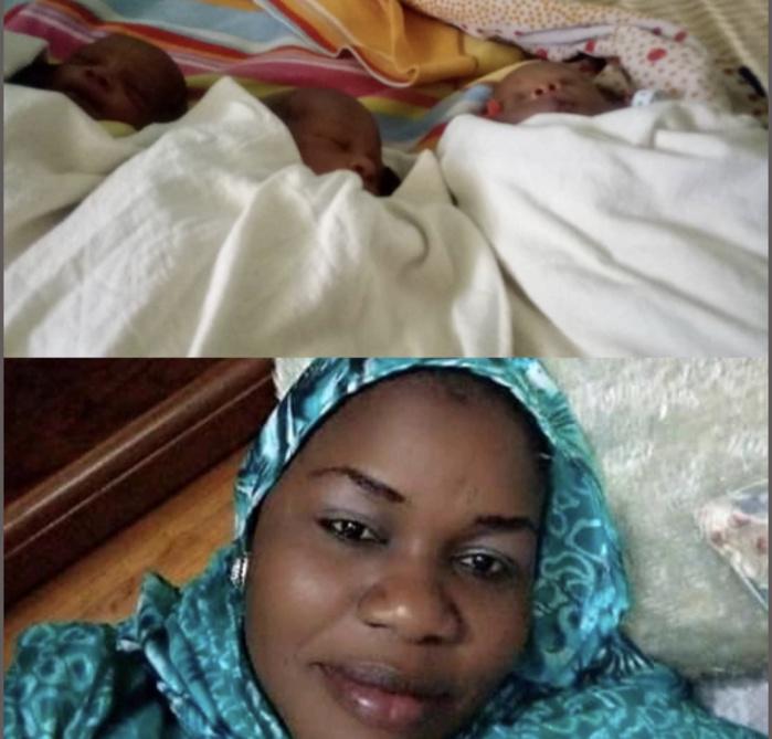 """INSOLITE - Trois """"bébés couvre-feu"""" à Touba / Le père baptise ses enfants Macky, Diouf Sarr et Awa l'infirmière."""