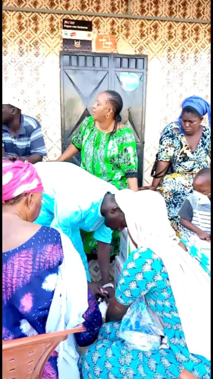 """Kaolack / Coronavirus : Le mouvement """"Atak"""" vole au secours des Daara et des ménages vulnérables au Covid-19."""