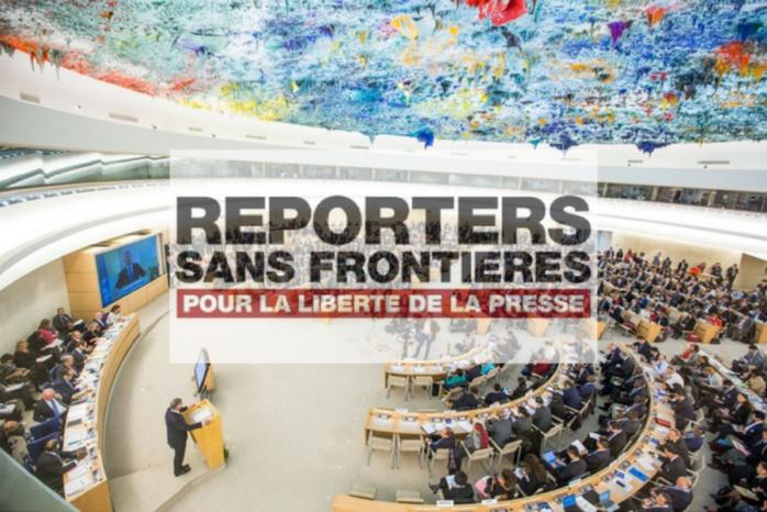 RSF dépose plainte auprès de l'ONU pour les violations de la liberté de la presse pendant l'épidémie de Coronavirus.