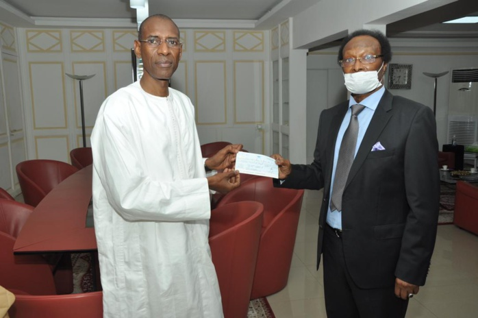 FONDS «FORCE COVID-19» : Baba Diao de Itoc offre 200.000.000 F cfa.
