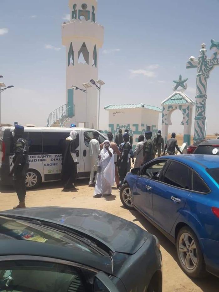 Médinatoul Abdoukhadre Dieylani/ Sikhaye : Inhumation du défunt Khalife de Sagne Bambara.
