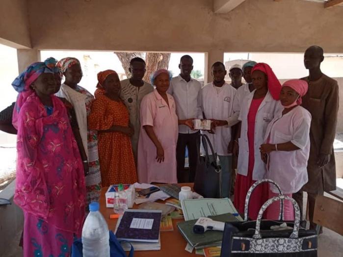 Podor / Lutte contre le Coronavirus : Mamadou Racine Sy équipe les structures sanitaires du département.