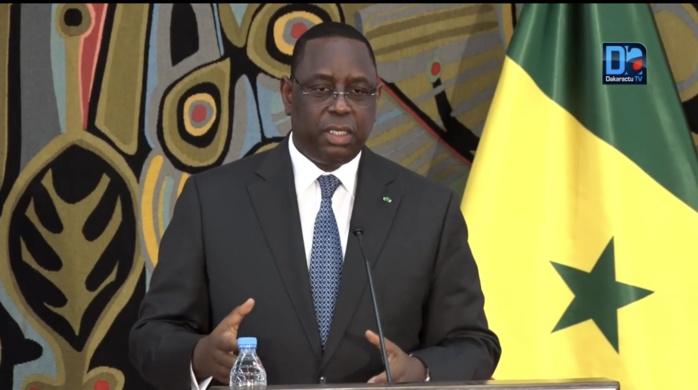 « Il va de soi que si l'évolution de la situation requiert un confinement général, nous le ferons sans hésiter » (Macky Sall, président de la République)