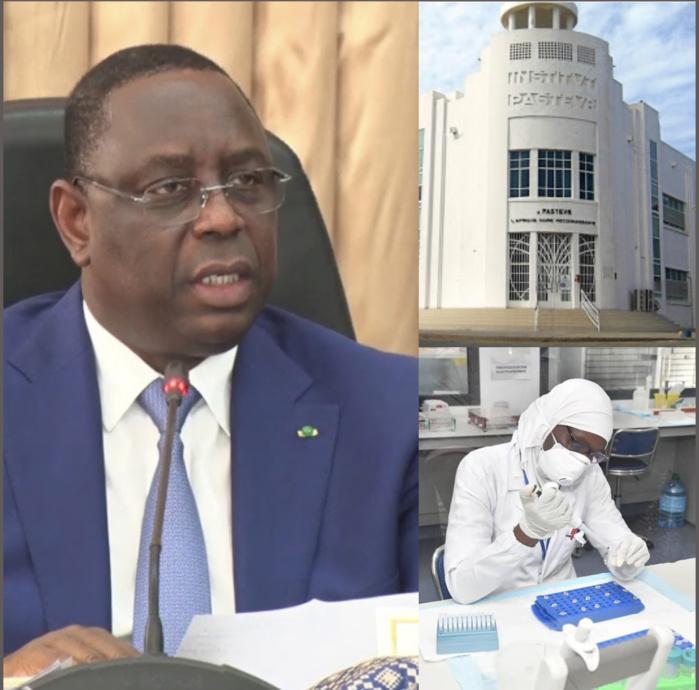 Covid-19 / Recherche d'un vaccin par l'institut Pasteur : Les précisions du président Macky Sall...