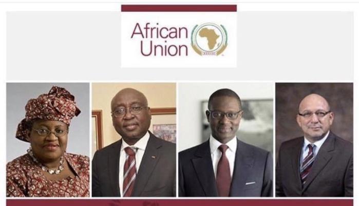 LUTTE CONTRE LE COVID-19 : Les 4 personnalités qui composent la task-force de l'Union Africaine.