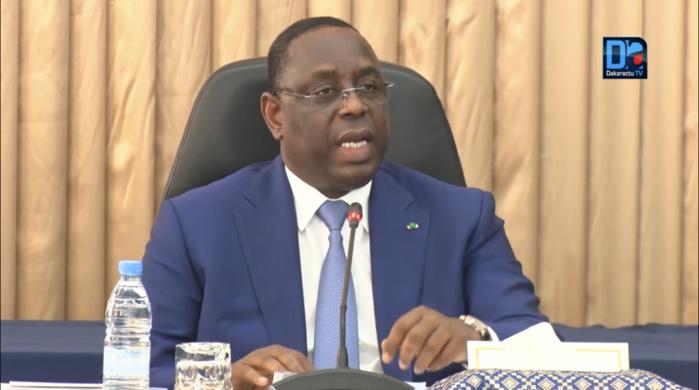 """Moratoire sur la dette africaine : Les conséquences économiques risquent d'être """"plus dramatiques que les conséquences sanitaires du Covid-19"""", prévient Macky Sall."""