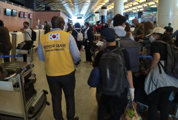 Covid-19 : 17 sud-coréens évacués par leurs autorités