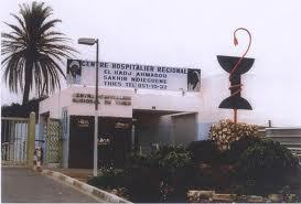 Incendie à l'hôpital Ahmadou Sakhir Ndiéguène de Thiès.
