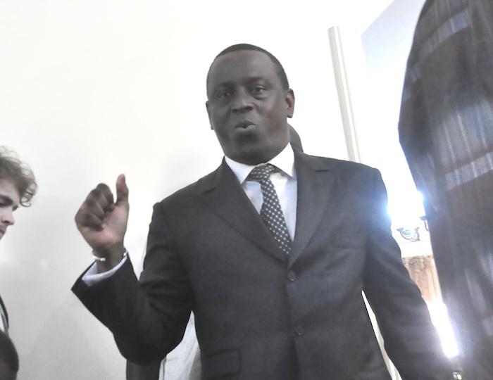 Cheikh Tidiane Gadio aux côtés de Macky Sall à Addis-Abeba.